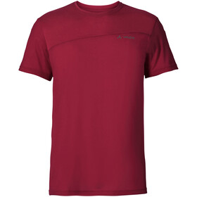VAUDE Sveit Camiseta Hombre, dark indian red